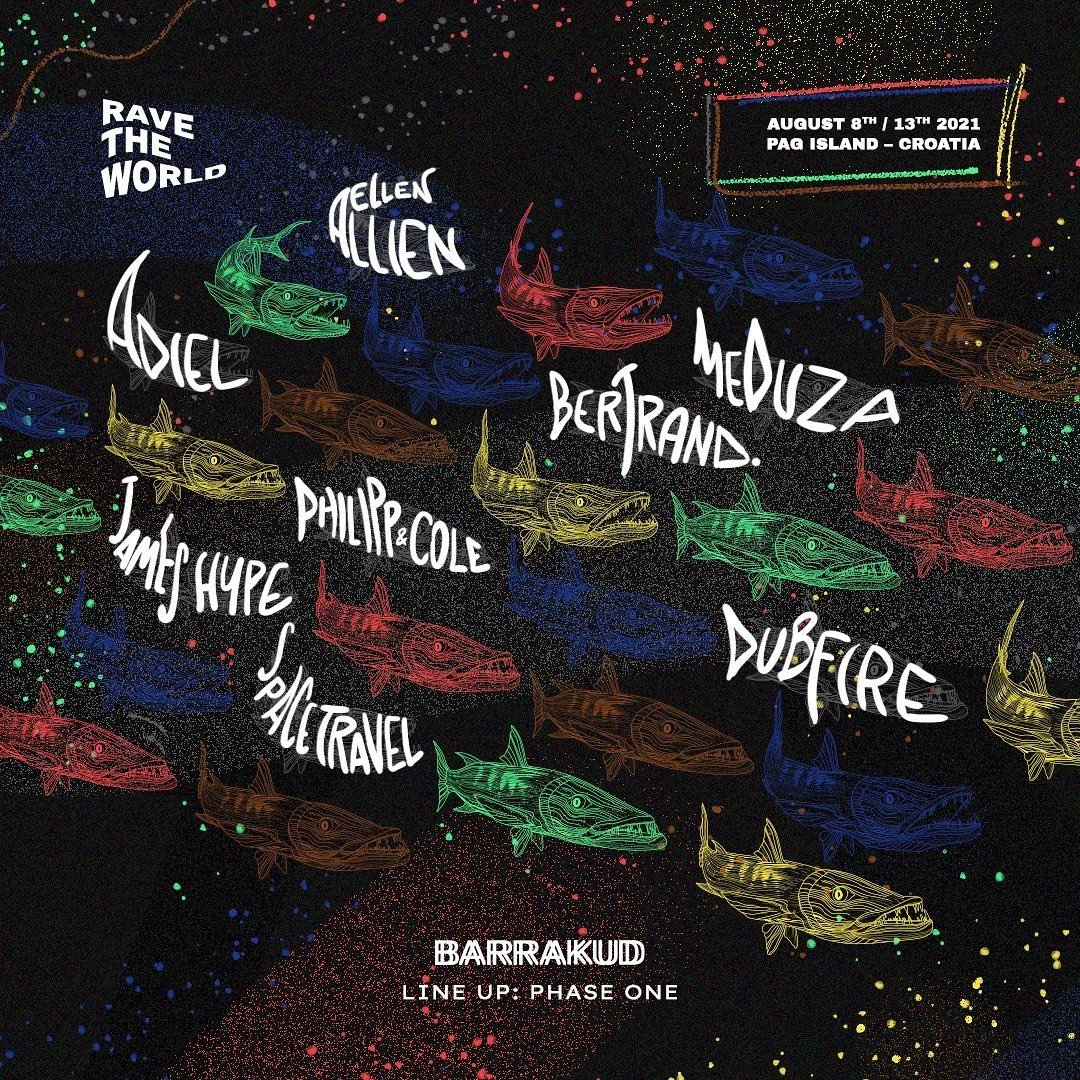 BARRAKUD Festival 2021 Lineup