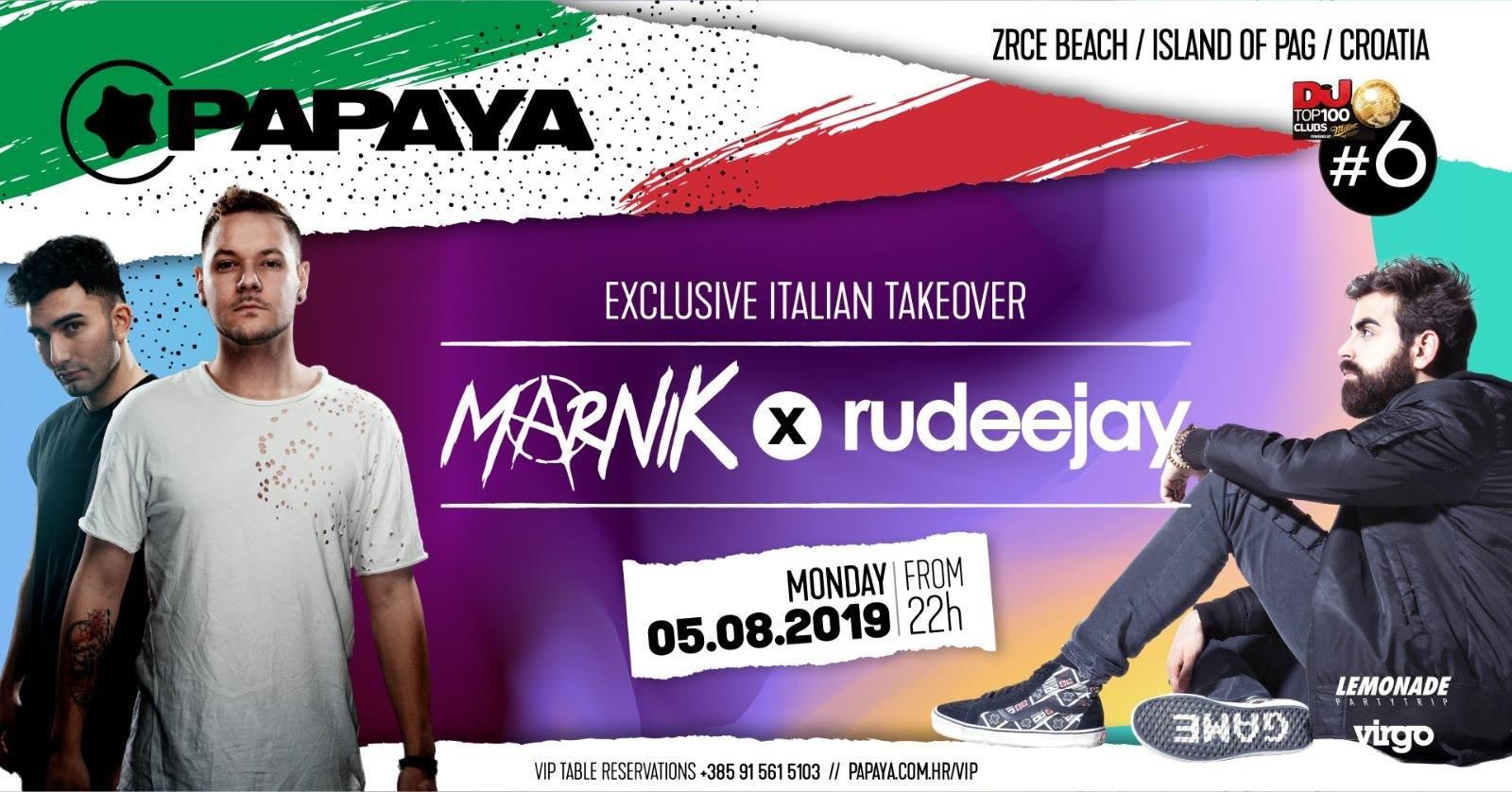 Marnik & Rudeejay - 05.08.2019