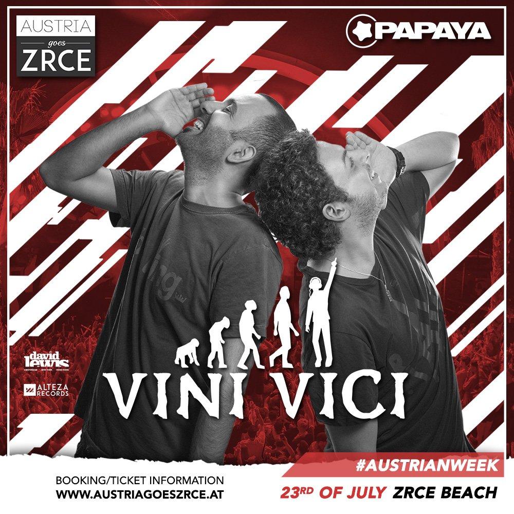 Vini Vici 23.7.2019 klub Papaya