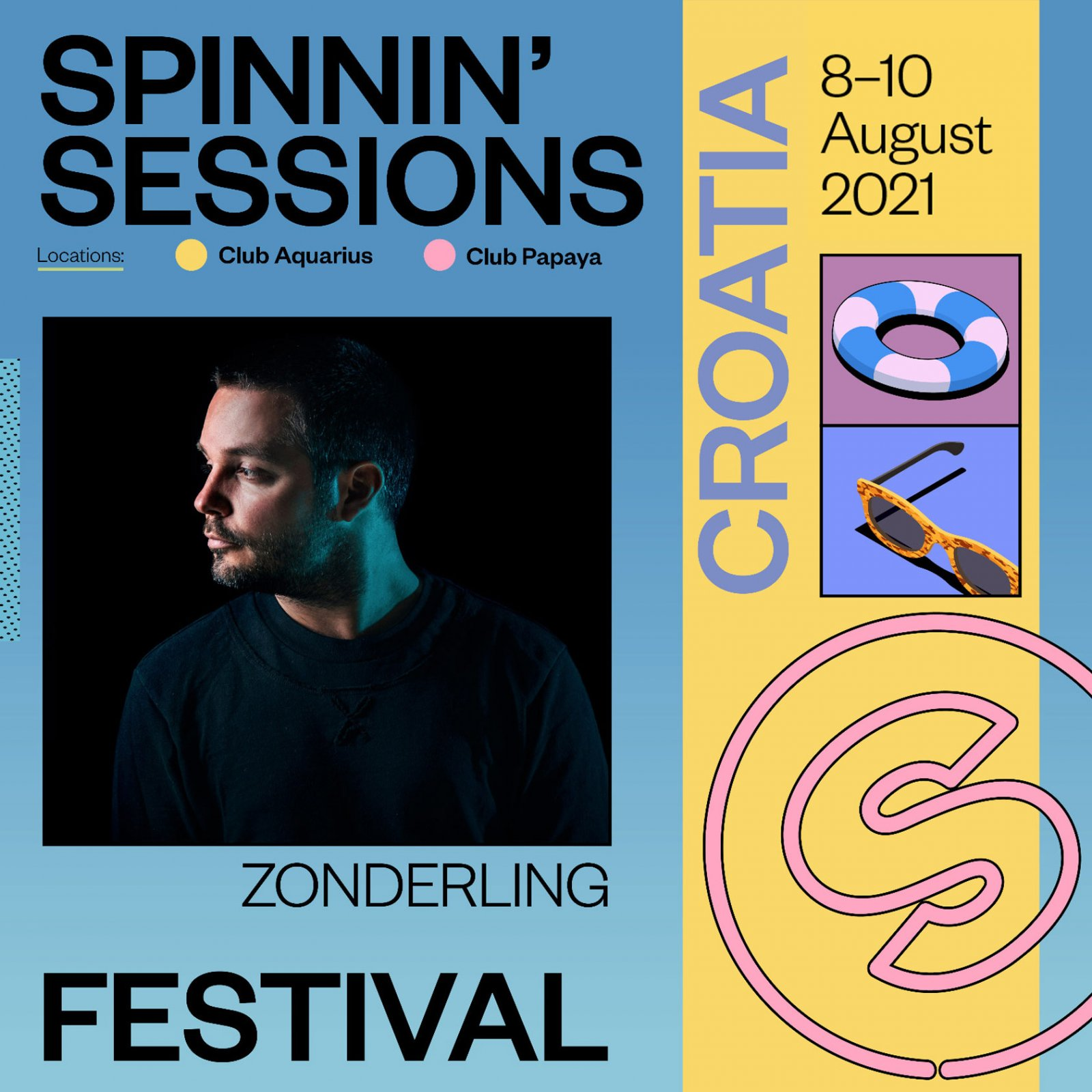 Spinnin' Sessions Festival Croatia 2021 Zonderling