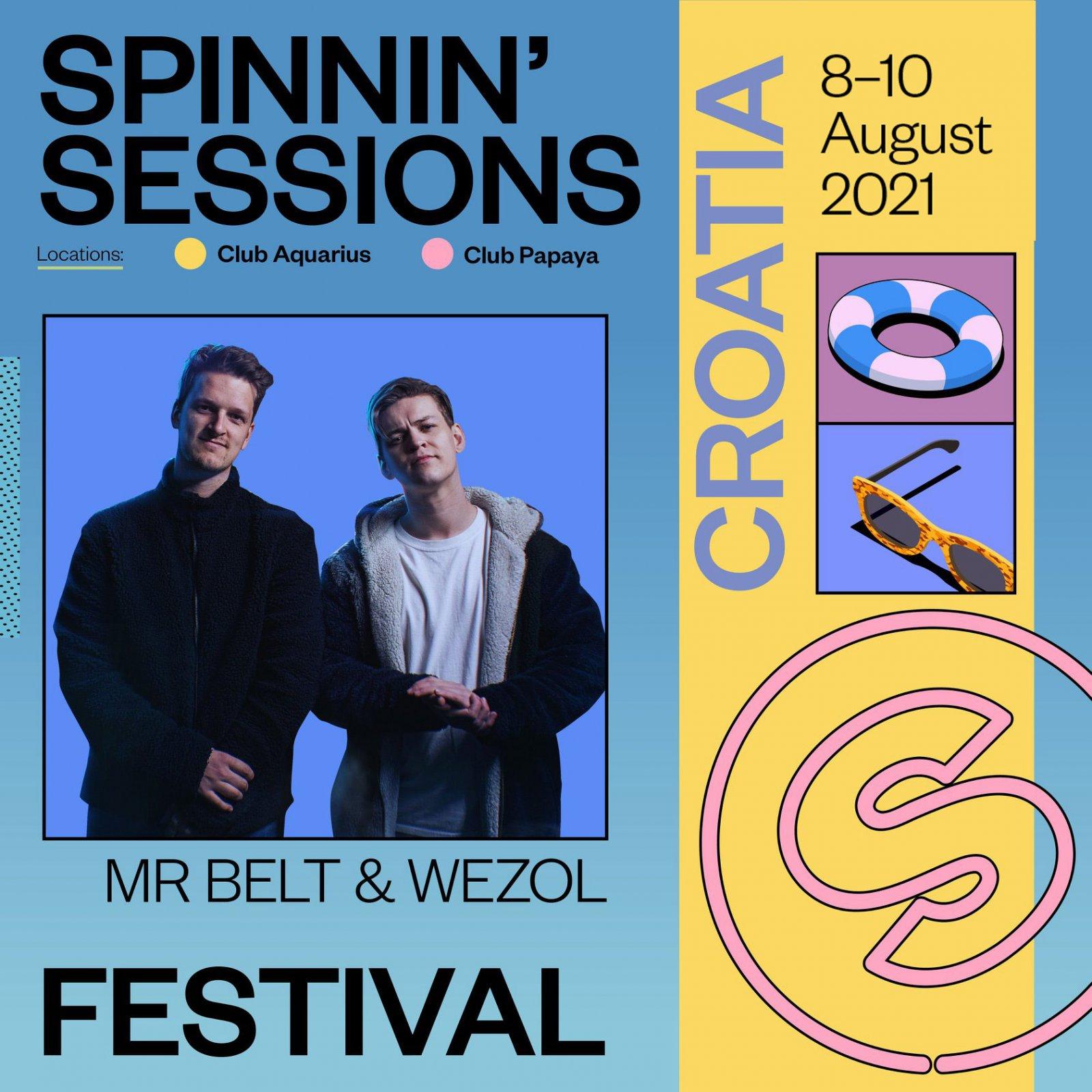 Spinnin' Sessions Festival Croatia 2021 MR.Beld & Wezol
