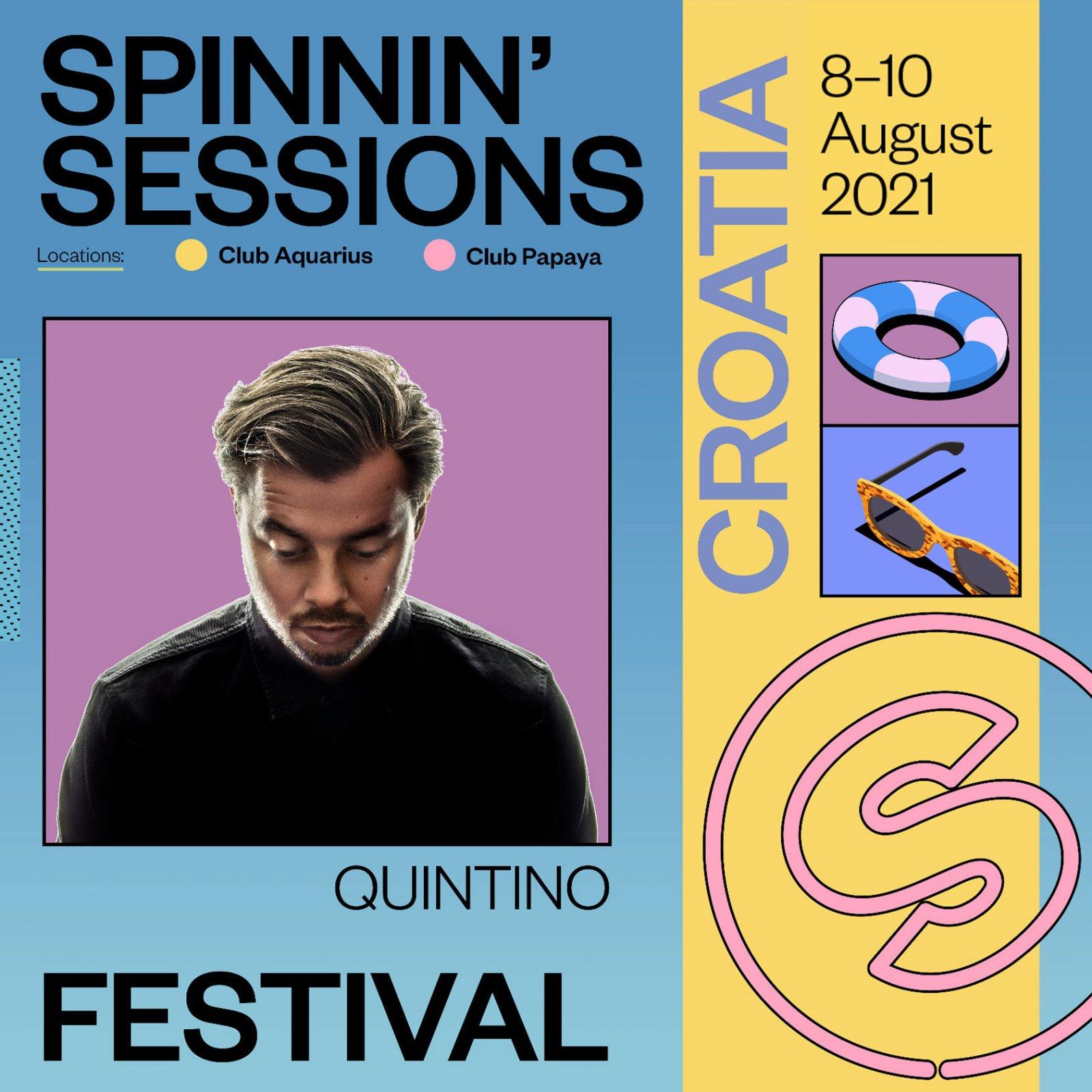 Spinnin' Sessions Festival Croatia 2021 Quintino