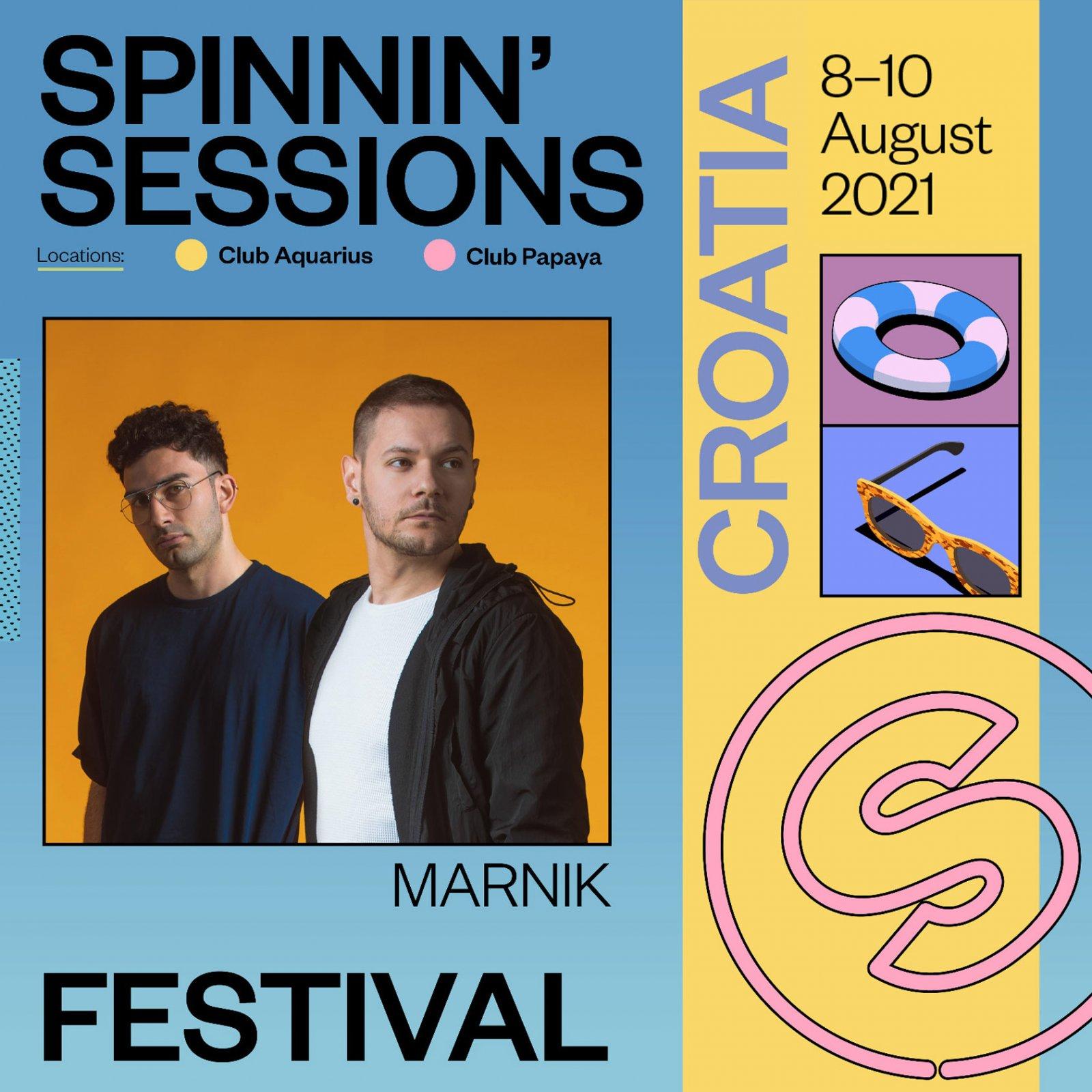 Spinnin' Sessions Festival 2021 Croatia Marnik