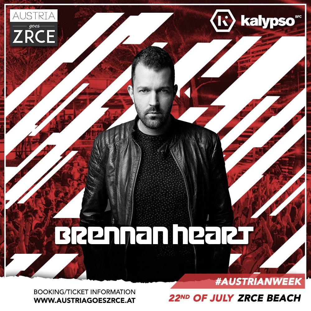 Brennan Heart 22.7.2019 klub Kalypso
